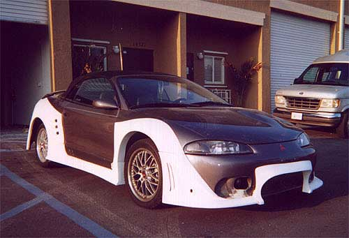Where to find Widebody kit? - DSM Forums: Mitsubishi ...